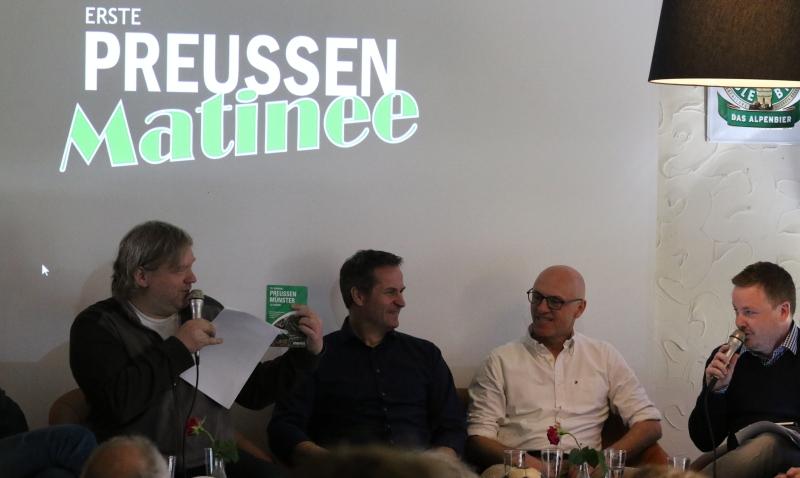 Die Preußen-Matinee / Der schwarz-weiß-grüne Talk